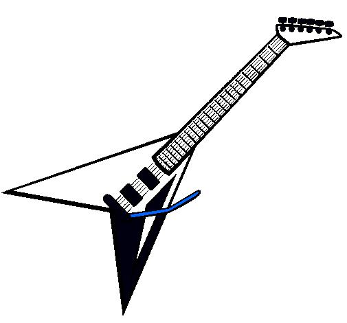 Como Dibujar Guitarras Electricas Imagui