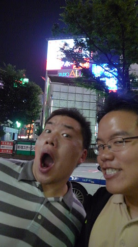 With Eric at Shinjuku Station East Exit