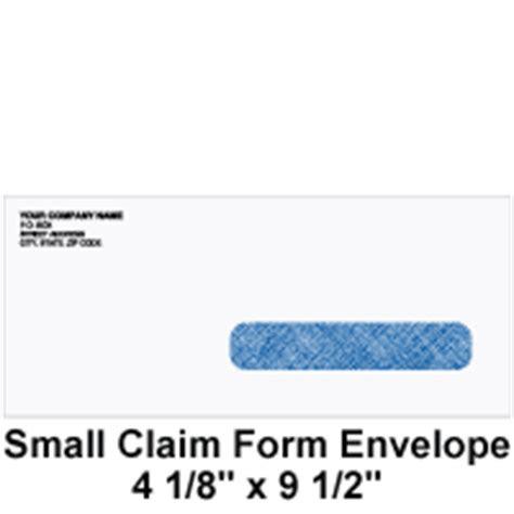 medical claim forms  envelopes insurance medicare