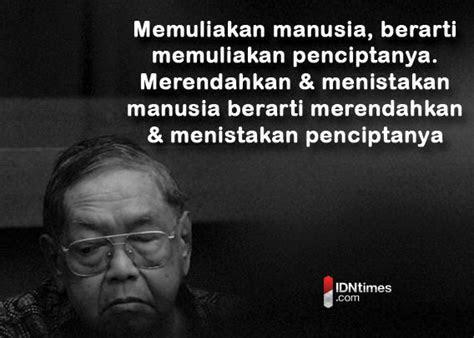 perkataan bijak  gus dur buat anak muda  indonesia