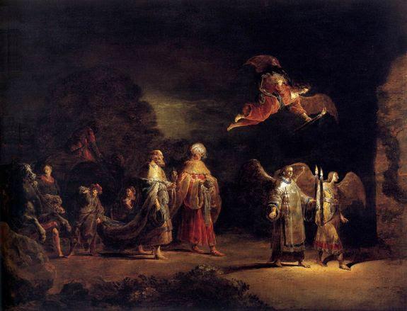 Leonaert Bramer 1638-40 la quête des mages musée de la New-York Historical Society
