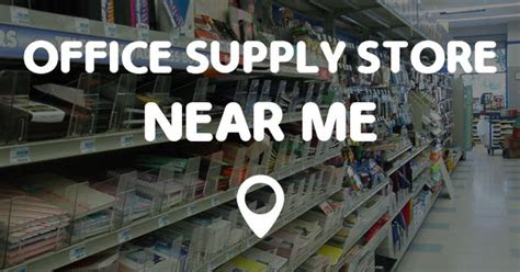 office supply store   points