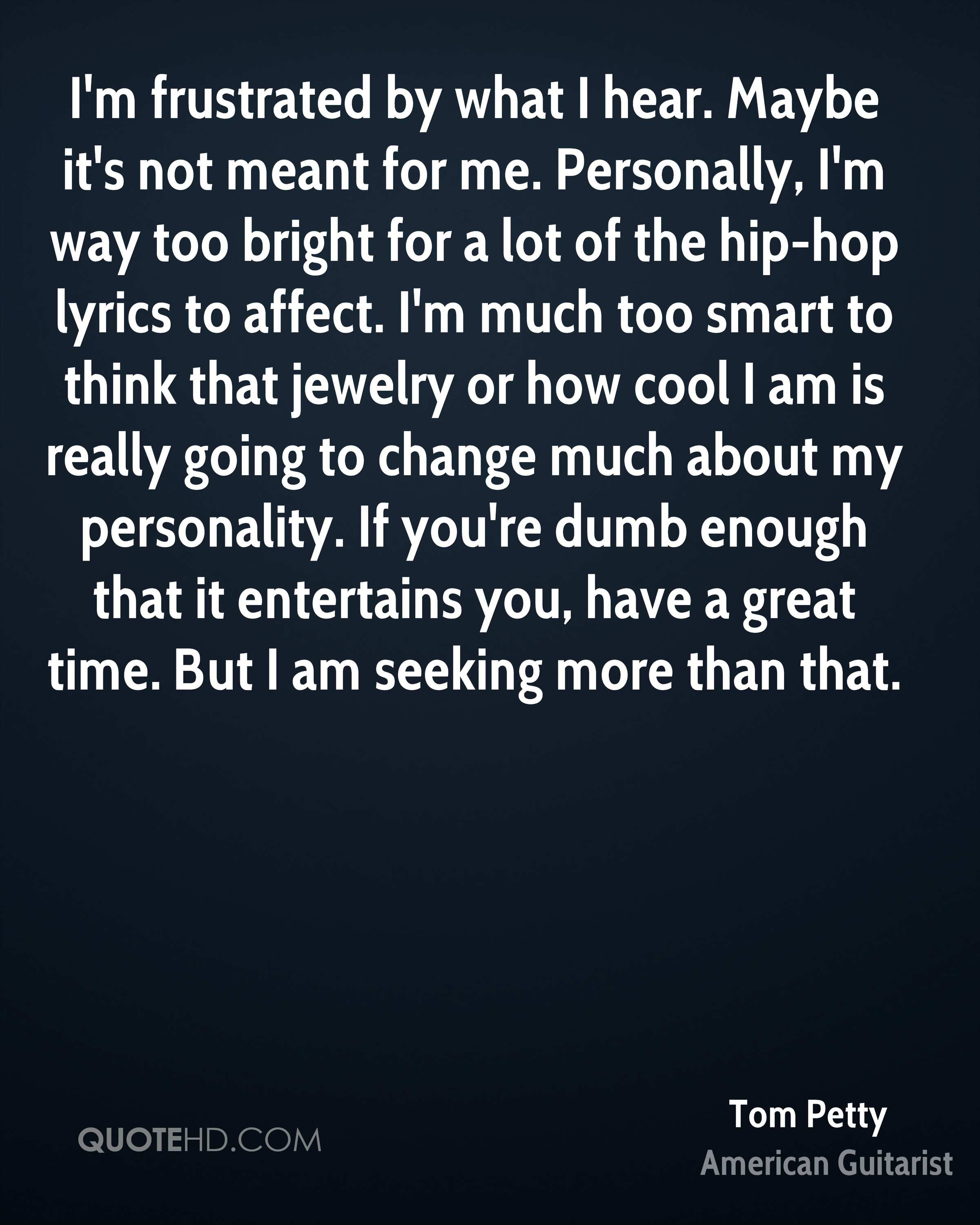 Tom Petty Quotes Quotehd