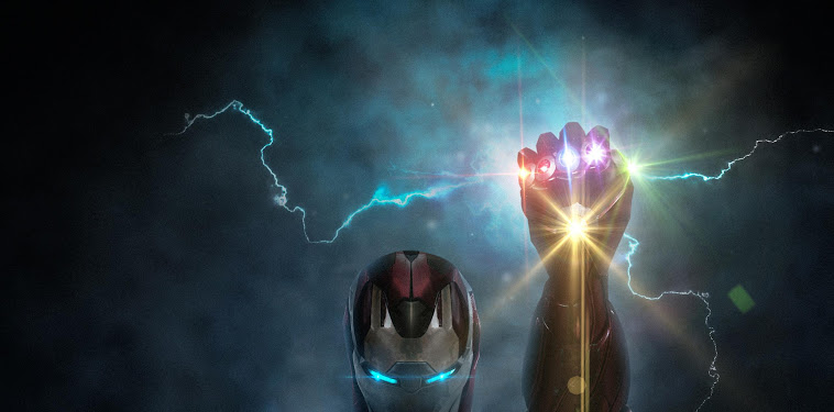 Iron Man Infinity Gauntlet Wallpaper
