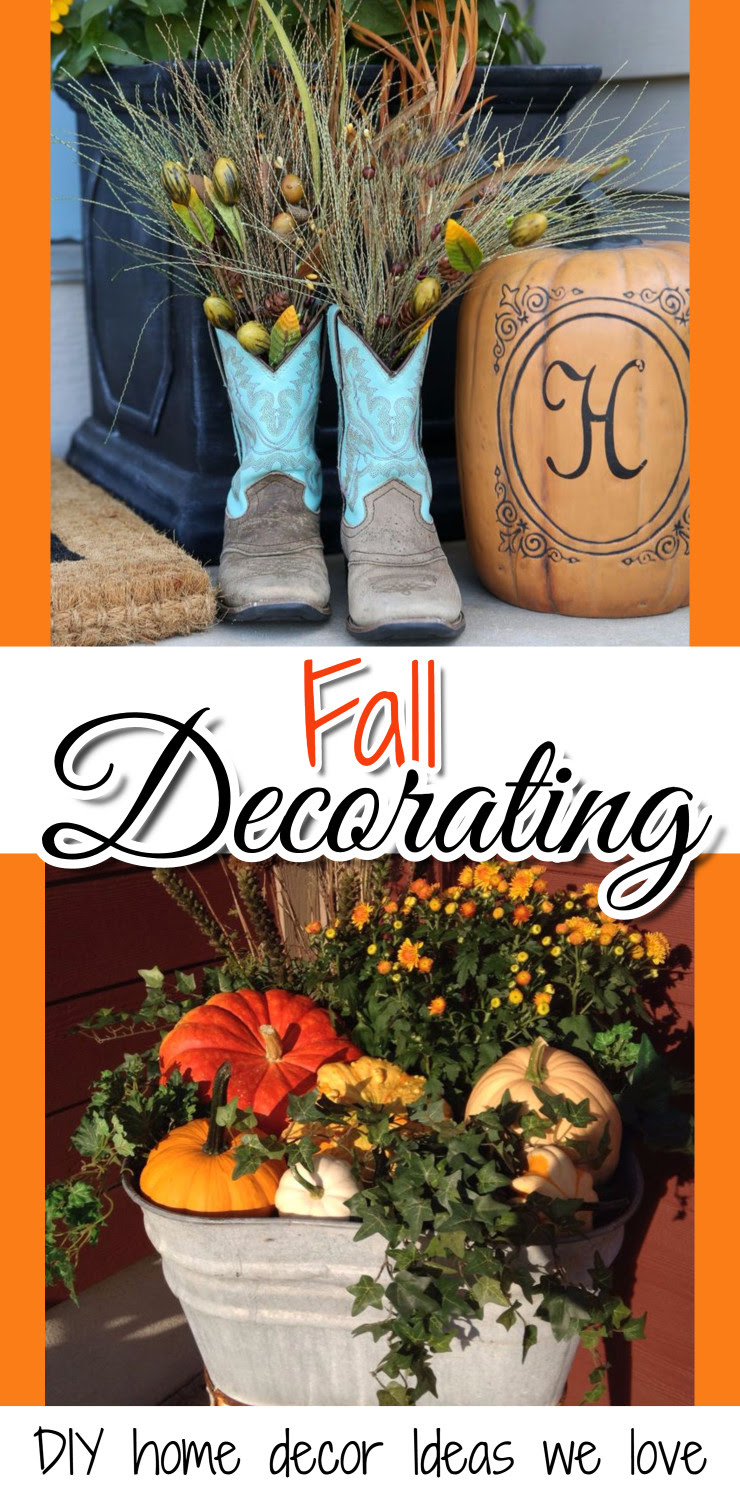Diy Fall Decor For The Home And Fall Crafts We Love Clever Diy Ideas