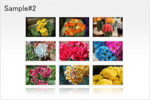 ホームページ 写真 ギャラリー 無料 - 写真アルバム・フォトギャラリー作成・サンプル集 JavaScript