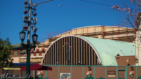 Disneyland Resort, Disney California Adventure, Condor, Flats, Grizzly, Peak, Airfield, Refurbishment, Refurbish, Refurb