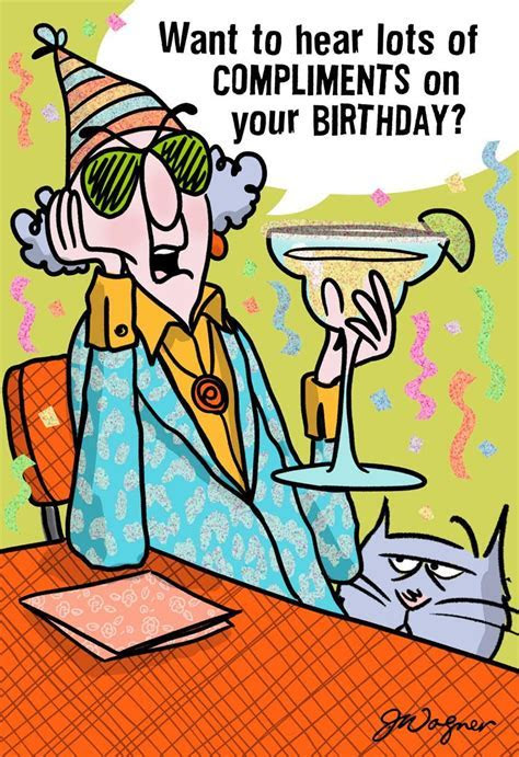 My Compliments Funny Birthday Card   Greeting Cards   Hallmark