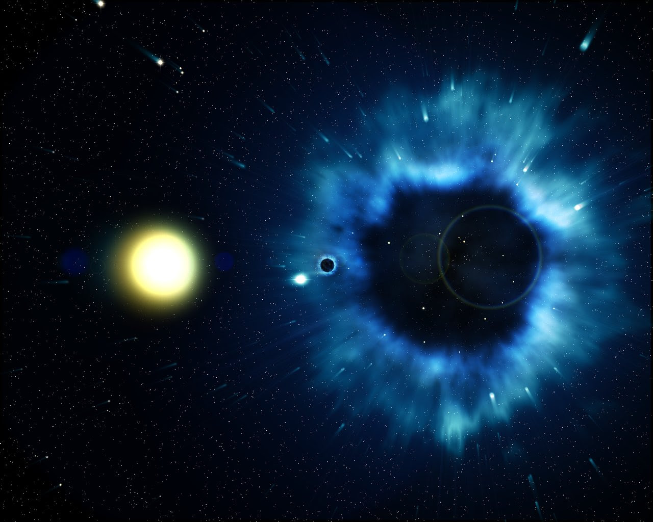 Missing Link Found Between Supernovae And Black Holes Esa Hubble