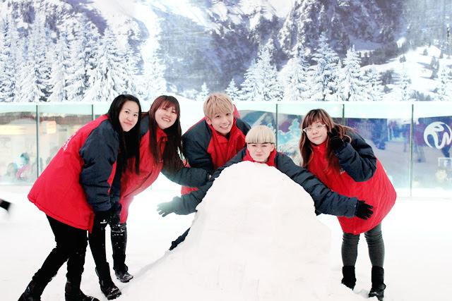typicalben snow world genting group