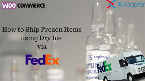 shipping frozen food fedex food