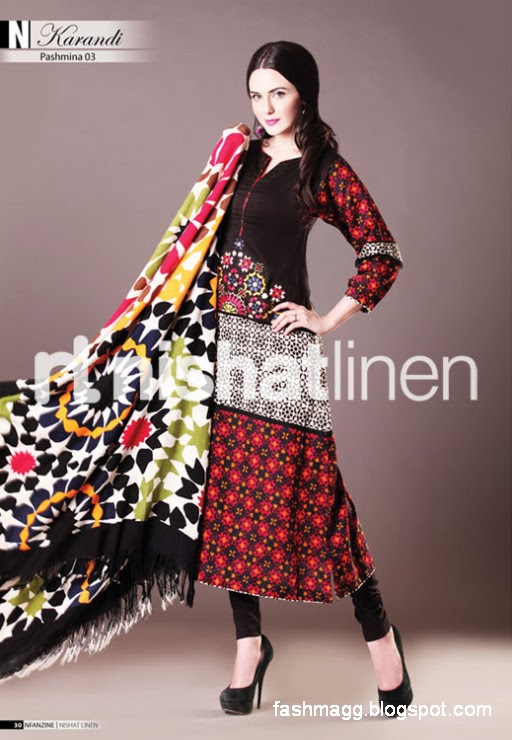 Nishat-Linen-Winter-Dresses-Collection-2013-Nishat-Linen-Fancy-Frocks-Shalwar-Kamiz-10