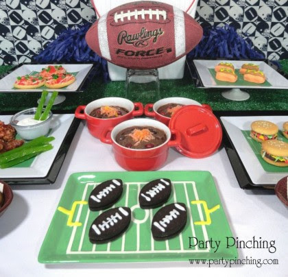 Super Bowl Party And Snack Ideas Recipes Easy Tutorials Football Food
