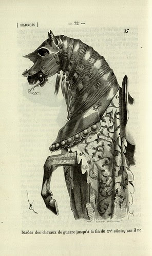 Horse armour late 1400s
