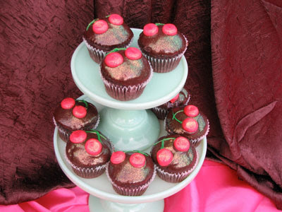 Cherryliscious cupcakes from The Cupcakery