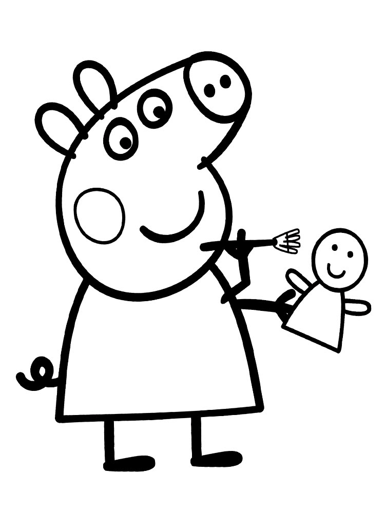 Imprimir Dibujos Para Colorear De Peppa Pig Imagesacolorierwebsite