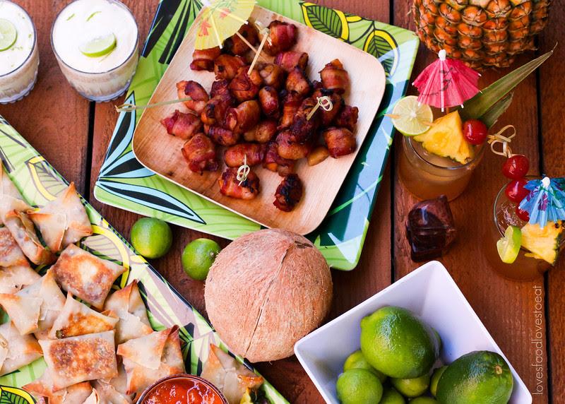 Tiki Party: Rumaki // Loves Food, Loves to Eat #lovestotiki