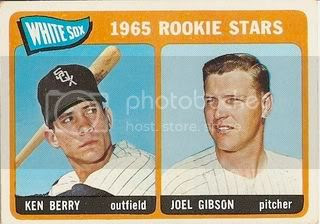 #368 White Sox Rookie Stars: Ken Berry and Joel Gibson