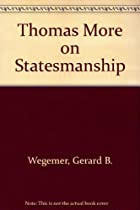 Thomas More on Statesmanship