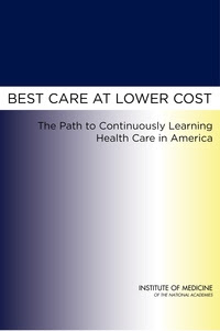 Cover Image: Best Care at Lower Cost: