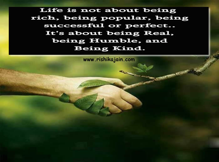Life Is Not About Being Rich Being Popular Inspirational Quotes