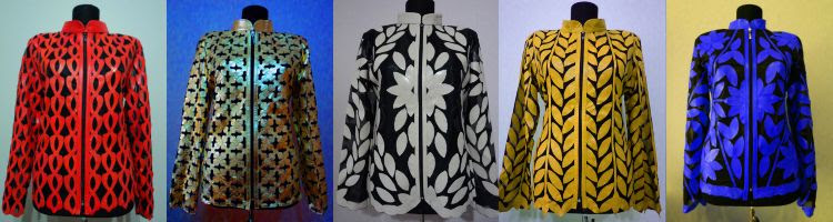 Click to See Other Leather Leaf Jackets