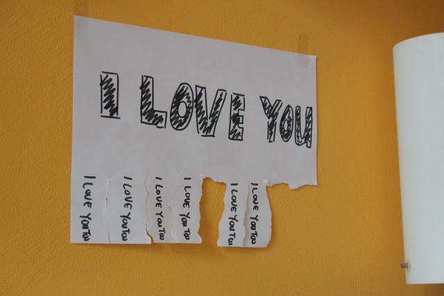 I love you, I love you too