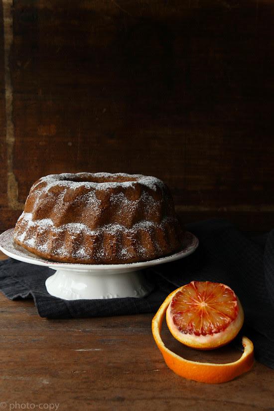 walnoten bloedappelsien cake