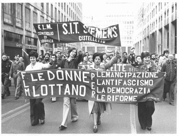 donne- manifestazione