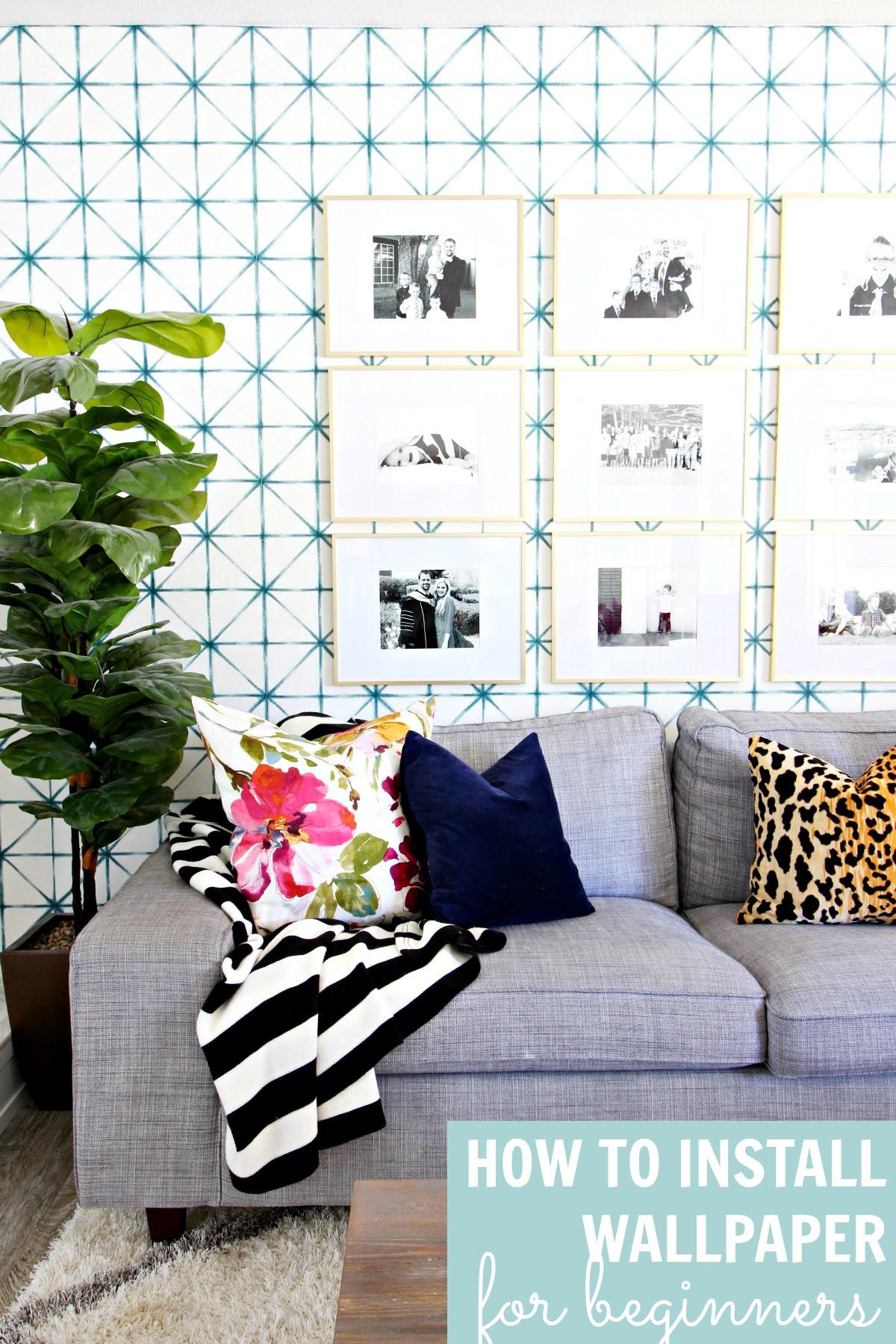 Prescott View Home Reno: How to install wallpaper  Classy Clutter  Bloglovin\u2019
