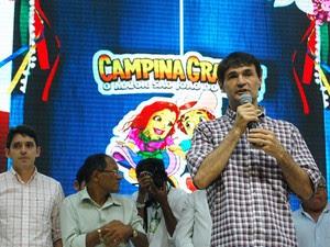 Anúncio da programação completa do 'Maior São João do Mundo' foi feito na manhã de segunda-feira (19), em Campina Grande (Foto: Diogo Almeida/G1)
