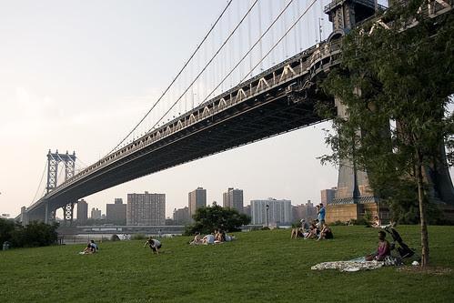 Below the Manhattan Bridge, Brooklyn
