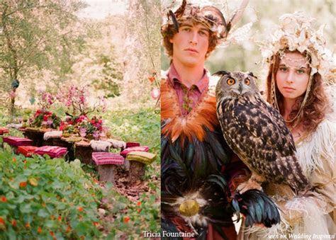 A Royal Fairy and Elf Wedding Theme   Wedding Inspirasi