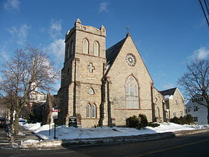 English: Christ Church in Newton, New Jersey, ...