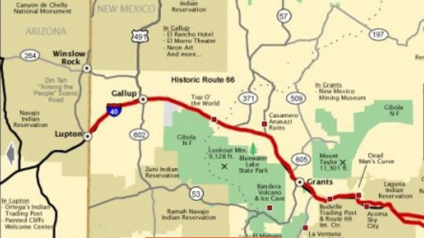 Map Of Arizona I40.I 40 Arizona Map World Map Interactive
