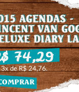 2015 AGENDAS - VINCENT VAN GOGH DELUXE DIARY LARGE
