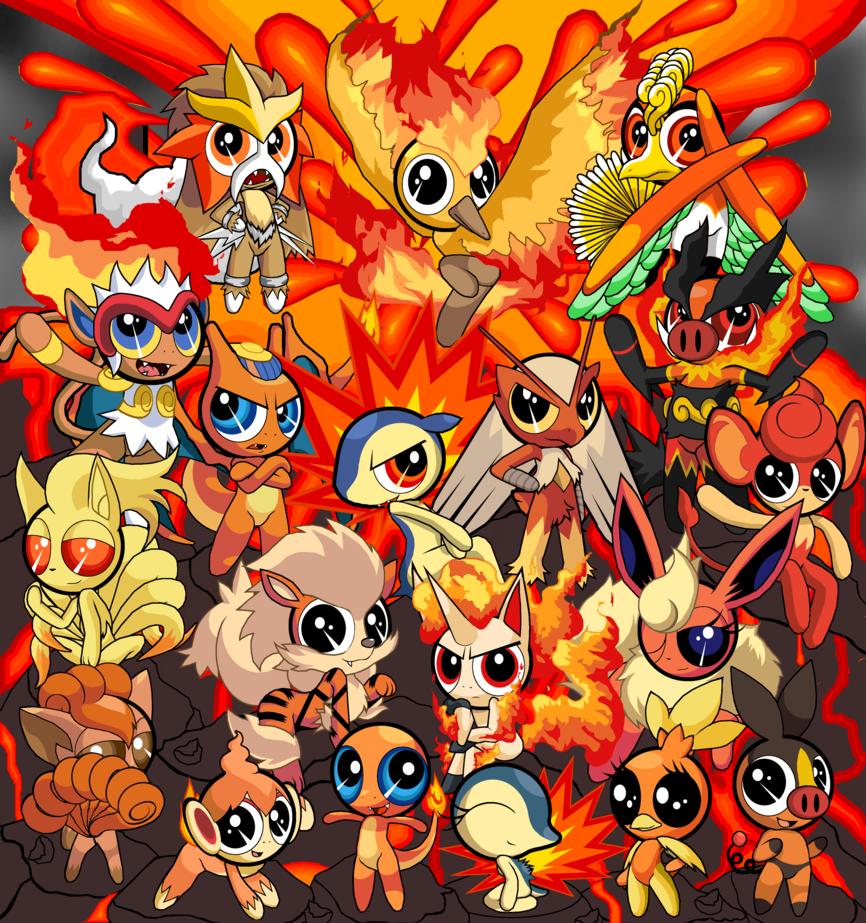 Pokemon Fire Red Wallpaper  WallpaperSafari