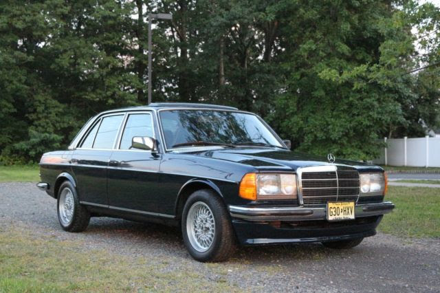 W123 280E MERCEDES BENZ EURO 1982 BBS AMG W126 W111 W110 GRAY MARKET for sale - Mercedes-Benz E ...