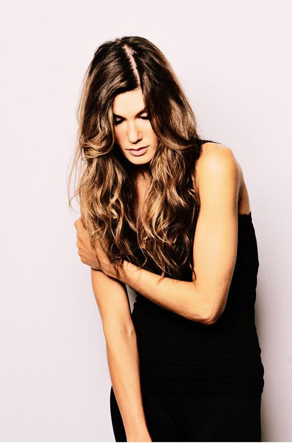 Rachel, Mid Shot - Studio Modelling Portfolio Shoot.