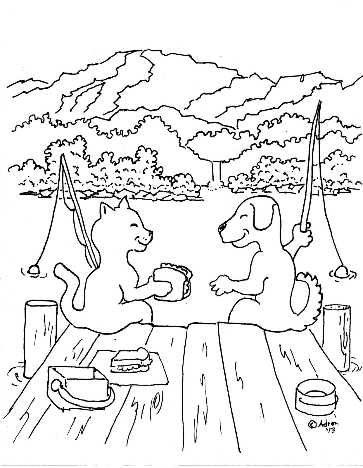 7500 Top Coloring Pages For Cats And Dogs Images & Pictures In HD