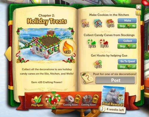 Holiday Book - FarmVille 2