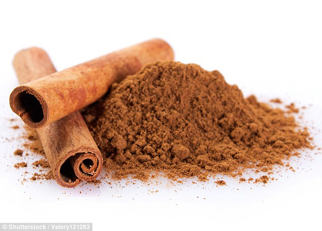Cinnamon may reverse a high-fat diet by slowing the fat-storing process and lessening the risk of heart damage