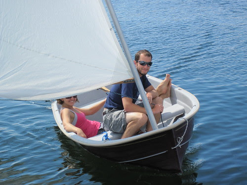 sailing dinghy