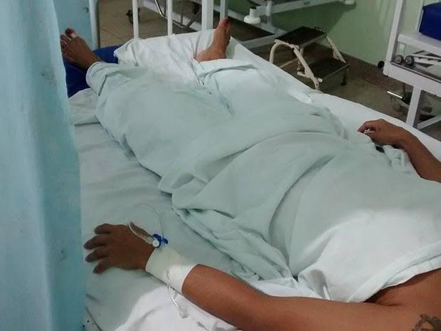 Mulher agredida oiapoque amapá  (Foto: Divulgação/Polícia Civil)