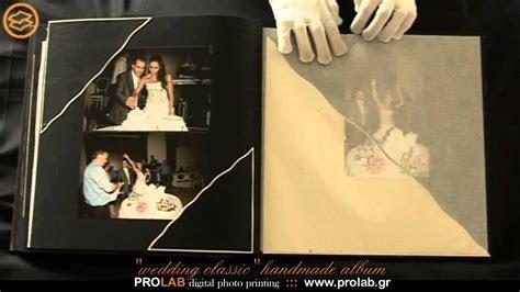 "handmade wedding album ""WEDDING CLASSIC""   created"