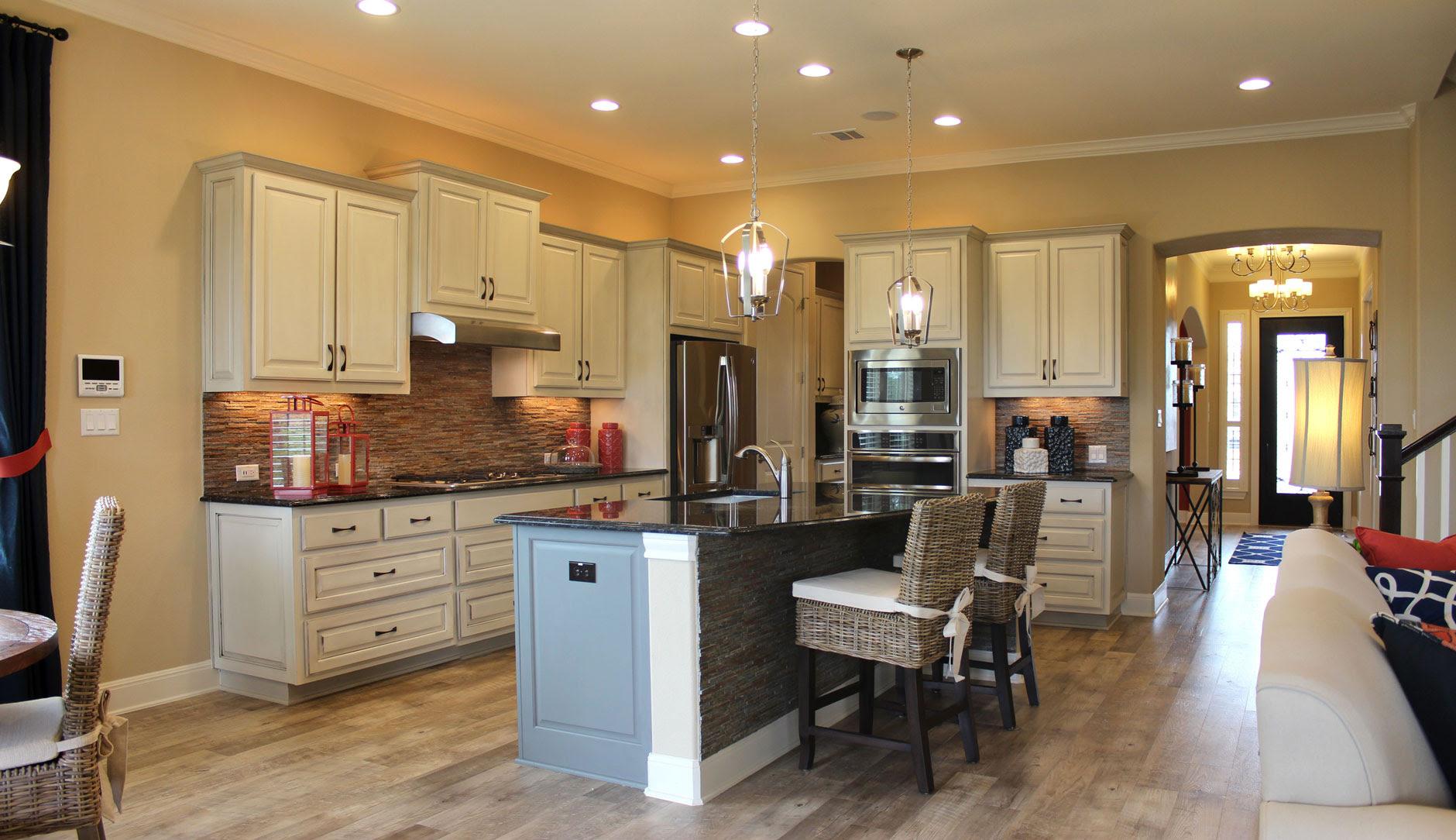 Kitchen Photos – Burrows Cabinets – central Texas builder ...