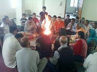 Havan at VK Shimla on Guru Purnima day
