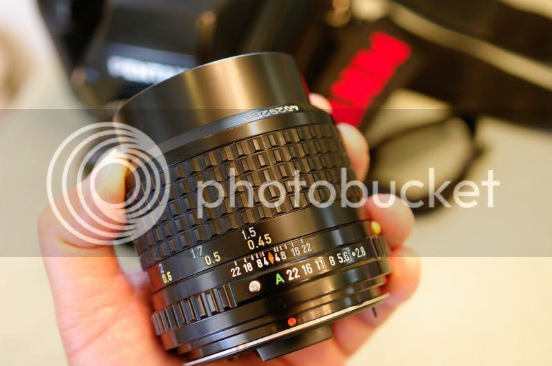 Pentax 645 A 55mm f/2.8 Test Shots