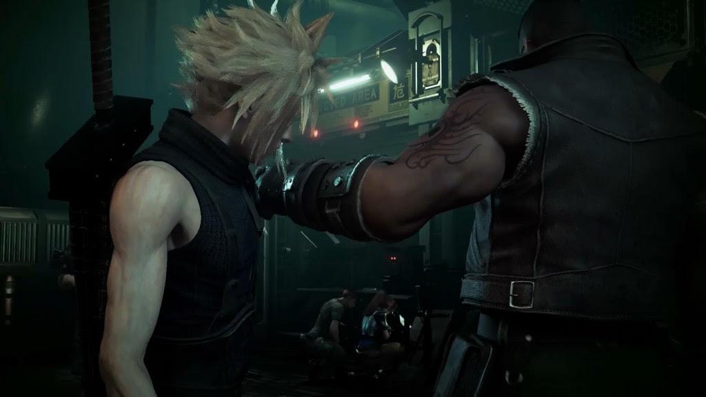 Cloud's voice actor returns, presumably for Final Fantasy VII Remake screenshot