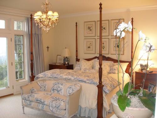 A Joyful Cottage: Girl Meets toile de Jouy- 16 Master Bedrooms ...